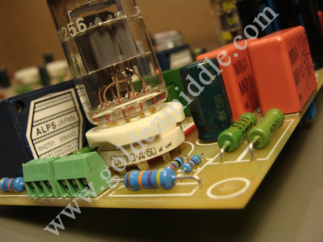 DIY tube preamplifier